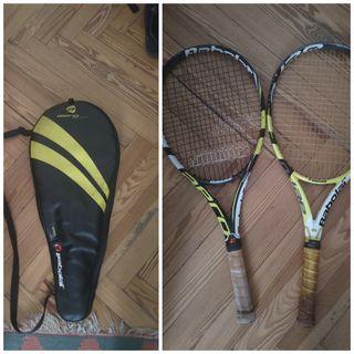 pack babolat raquetas+funda