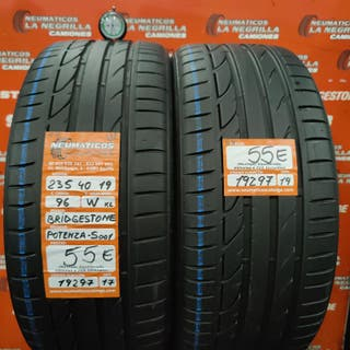 Neumaticos 235 40 19 96W Bridgestone. Ref 19297