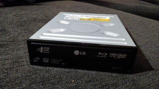 Grabadora DVD lector bluray