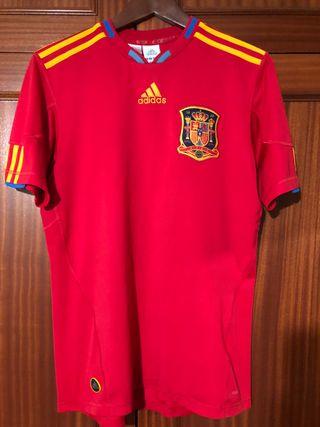 Camiseta España Mundial Sudafrica