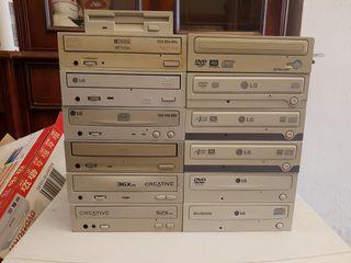 Lector grabador CD DVD ROM IDE