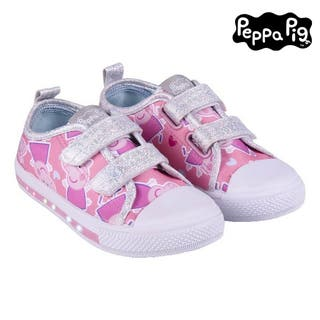Zapatillas Deportivas con LED Peppa Pig Rosa
