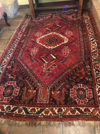 Alfombra persa de lana
