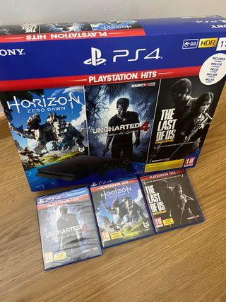 Playstation 4 slim 1 tb
