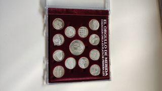 Monedas de plata *orgullo de Mérida'