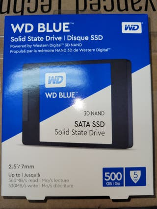 DISCOS SSD WD BLUE 500 GB NUEVO