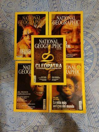 Revistas National Geographic TODAS 3€