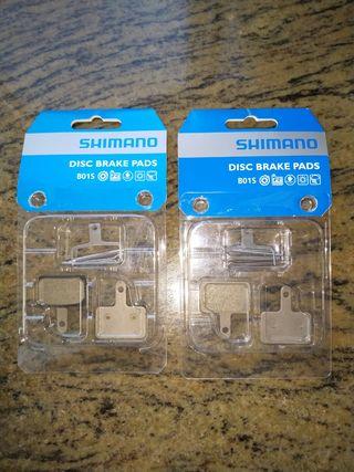 Pastillas Shimano B01S resina