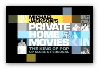 Michael Jackson - DVD - Private Home Movies
