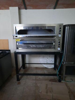 horno de pizza doble
