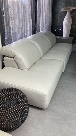 sofás de piel (leer descripción)