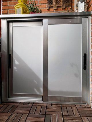 Armario de exterior de aluminio