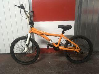 Bici BMX Monty 301 Free naranja 25th aniversario