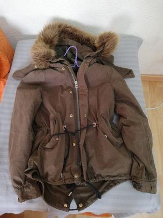 cazadora abrigo mujer