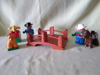 Lego Duplo . Sheriff a caballo