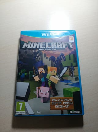 Minecraft wii u version