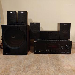Amplificador Sony STR-KG800 5.1 para Home Cinema