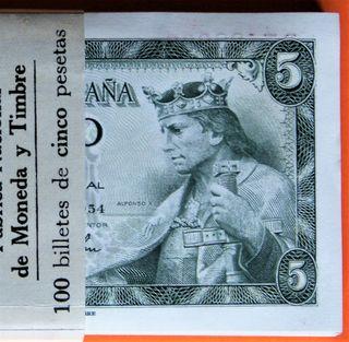 Taco 100 Billetes Correlativos 1954