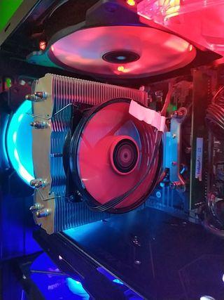 disipador cpu fan procesador mars gaming