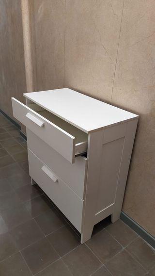 Mueble comoda ikea color blanco