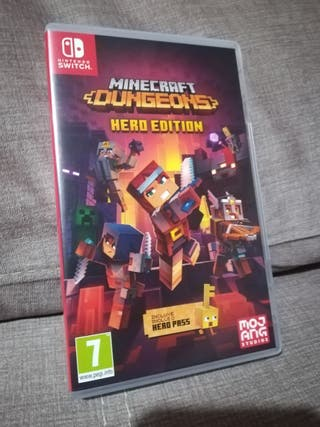 Juego Minecraft Dungeons Nintendo Switch