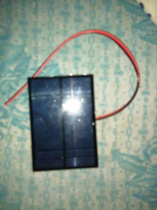 panel solar para recargar el móvil