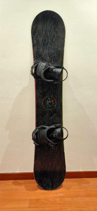 Snowboard completo Ride Machete + Union Contact
