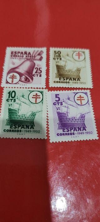 serie sellos España 1066 al 1069