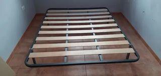 Somier Láminas 150cm x 200cm + patas