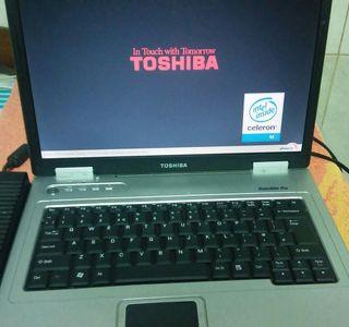 Ordenado Portatil pc Toshiba satellite L20.