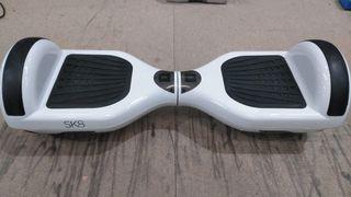 Hoverboard con batería estropeada