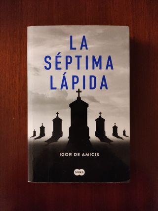 Novela La séptima Lapida