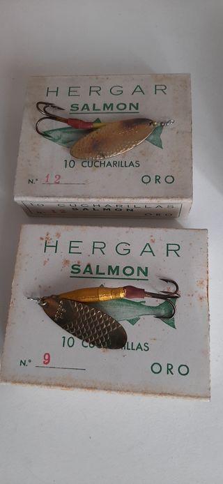 Cucharillas de salmón