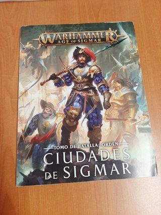 Libro Warhammer Ciudades de Sigmar nuevo