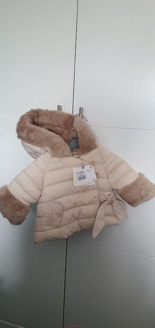 abrigo bebe niña