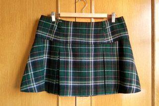 Falda escocesa H&M T42