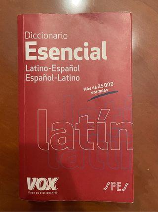 """Diccionario """"Esencial"""" Vox (Latín-Español)"""