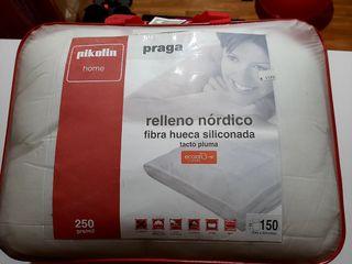 Relleno nórdico cama 150 cm