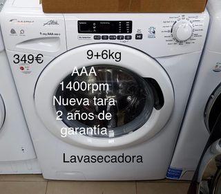LAVASECADORA CANDY 9+6KG AAA, NUEVA TARA