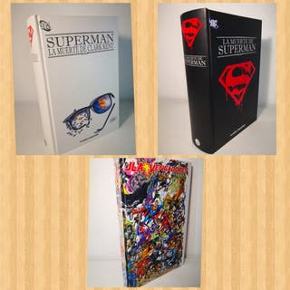 LOTE 4 COMICS SUPERMAN Y VENGADORES