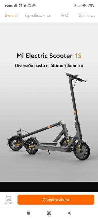vendo patinete xiaomi Mi Electric Scooter 1S