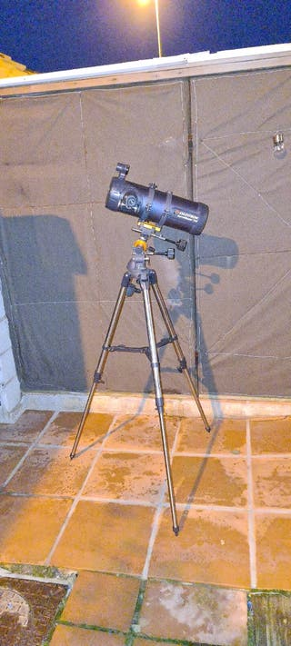 telescopio Celestron AstroMaster114EQ