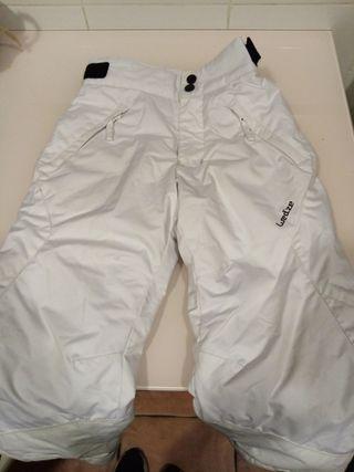 Pantalón de esquí y nieve niño Wedze Ski - P 500