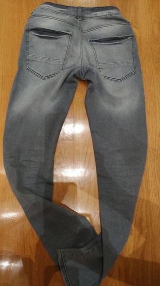 vaquero gris Kiabi T. XS