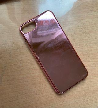 Funda IPhone 7, rosa espejo
