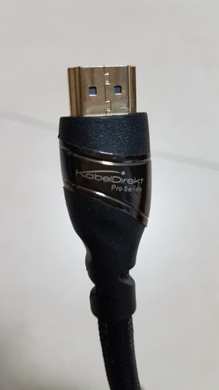 CABLE HDMI KABELDIREKT FORRADO PREMIUM 4K