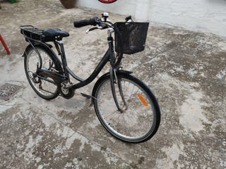 Bicicleta eléctrica Decathlon