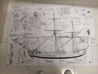 Planos de construccion de maquetas de barcos