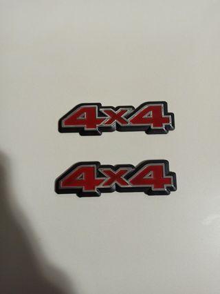 emblemas frontera 4x4