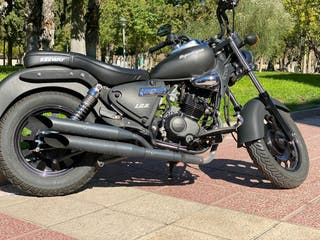 Keeway superlight límited edition moto custom 125